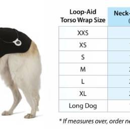 LOOP-AID Size Chart